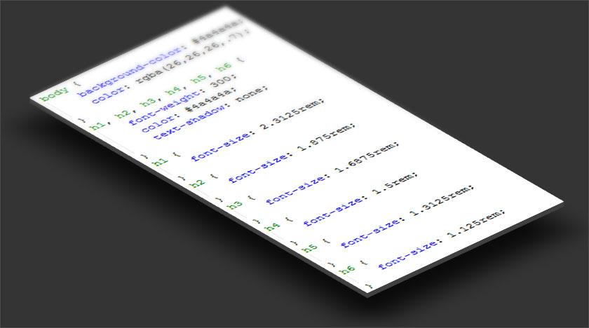 CSS kód